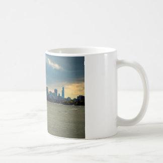 Chicago skyline. coffee mug