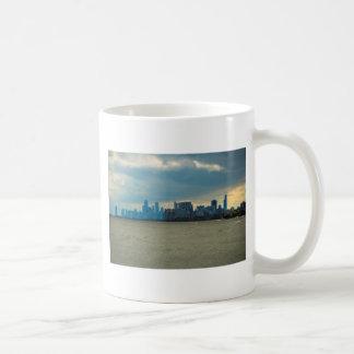 Chicago skyline. mugs