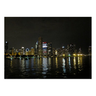 Chicago skyline pack of chubby business cards