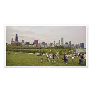 Chicago Skyline Photo Art