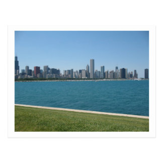 """Chicago Skyline"" Postcard"
