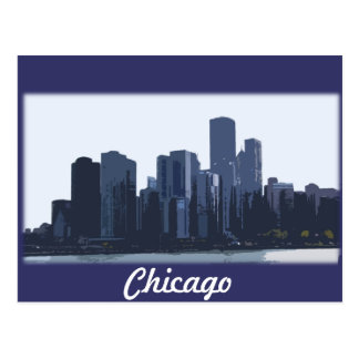 Chicago Skyline Postcard