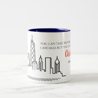 Chicago Skyline Quote Mug