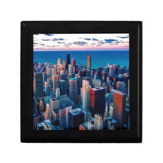 Chicago Skyline Sundown Gift Box