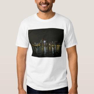 Chicago skyline t shirts