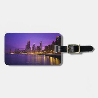 Chicago Skyline Travel Bag Tags