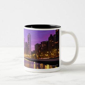 Chicago Skyline Two-Tone Mug