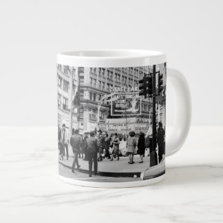 Chicago State and Lake Theater 1967 Casino Royale Large Coffee Mug