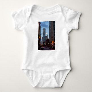 Chicago Street Scene Baby Bodysuit