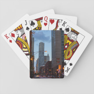 Chicago Street Scene Playing Cards