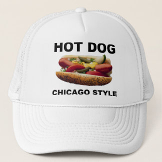 Chicago Style Hot Dog Trucker Hat