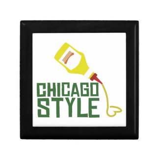 Chicago Style Small Square Gift Box