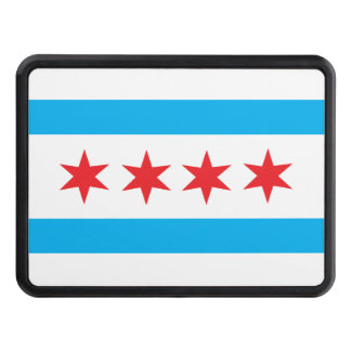 Chicago Style Trailer Hitch Cover.