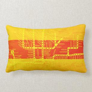 Dc Subway Map Pillow.Transition Cushions Decorative Throw Cushions Zazzle Au