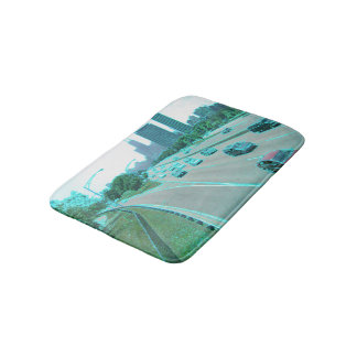 Chicago Traffic in Colored Foil Bath Mats
