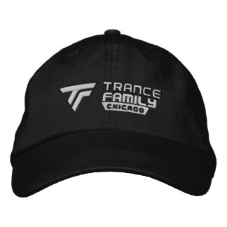Chicago Trance Family Black Hat Official Logo