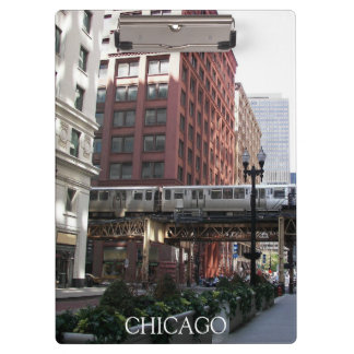 Chicago Travel Photo Clipboard
