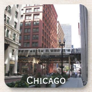 Chicago Travel Photo Coaster