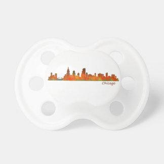 Chicago U.S. Skyline cityscape Dummy