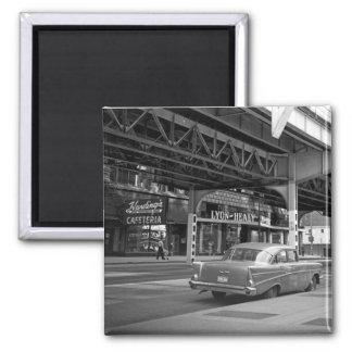 Chicago Wabash Avenue 1964 Hardings Lyon Healy Magnet