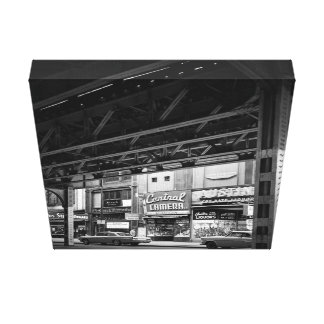 Chicago Wabash Avenue May 1961 Central Camera Cars Canvas Print