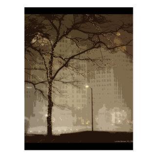 Chicago Winter Postcard