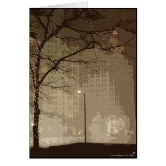 Chicago Winter Wonderland Card