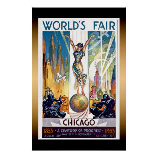 Chicago World s Fair Extra Large Poster