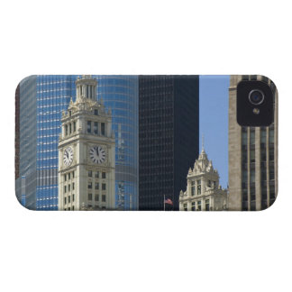 Chicago, Wrigley Building with Trump Hotel & iPhone 4 Covers