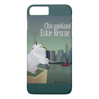 Chicagoland Eskie Rescue Phone Case