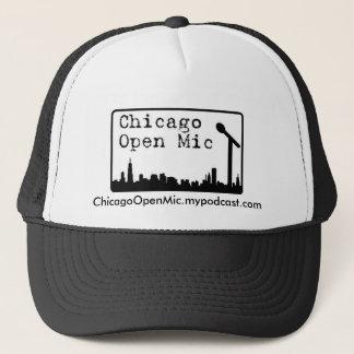 ChicagoOpenMic.mypodcast.com Trucker Hat