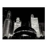 Chicago's Bean Postcard