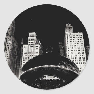 Chicago's Bean Round Sticker