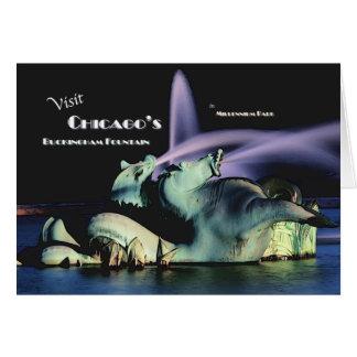 Chicago's Buckingham Fountain Card