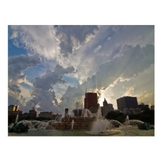 Chicago's Buckingham Fountain Postcard