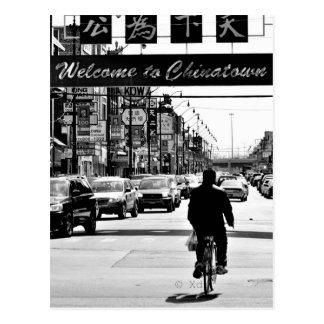 Chicago's Chinatown Postcard