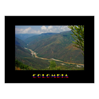 Chicamocha Colombia Poster