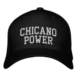 Chicano Power Embroidered Hat