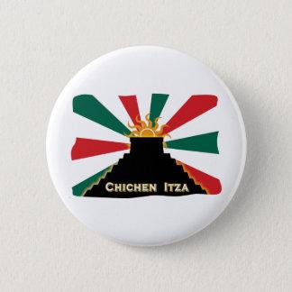 Chichen Itza 6 Cm Round Badge