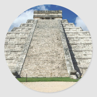 Chichen Itza by Kimberly Turnbull Photography Classic Round Sticker