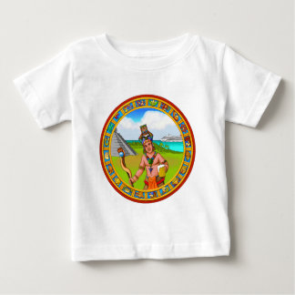 Chichen Itza Carnival Cruise Trip Mayan Cold Beer Baby T-Shirt