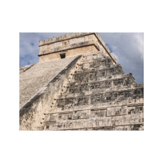 Chichen Itza Mayan Ruin in Mexico Canvas Print