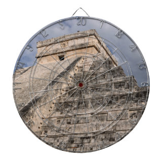 Chichen Itza Mayan Ruin in Mexico Dartboard