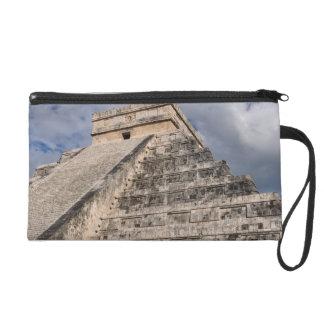 Chichen Itza MAyan Ruin in Mexico Wristlet Purse