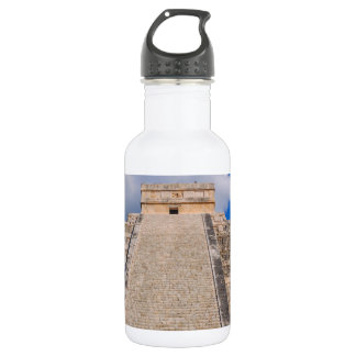 Chichen Itza Mayan Temple in Mexico 532 Ml Water Bottle