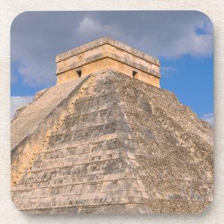 Chichen Itza Mayan Temple in Mexico Coaster