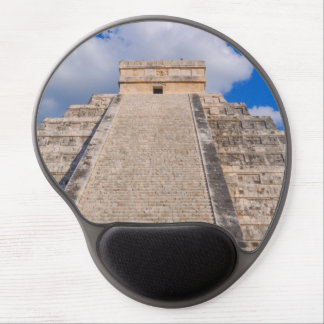 Chichen Itza Mayan Temple in Mexico Gel Mouse Pad