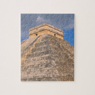Chichen Itza Mayan Temple in Mexico Jigsaw Puzzle