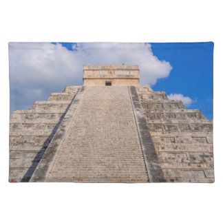 Chichen Itza Mayan Temple in Mexico Placemat
