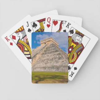 Chichen Itza Mayan Temple in Mexico Playing Cards
